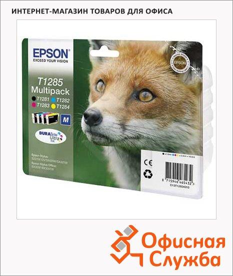 фото: Картридж струйный Epson C13 T12854011 4 цвета, 4шт/уп
