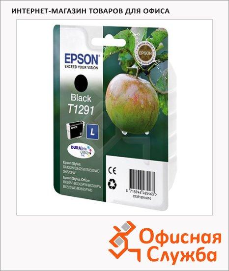 Картридж струйный Epson C13 T1291/92/93/94 4011 C13 T1291 4011, черный