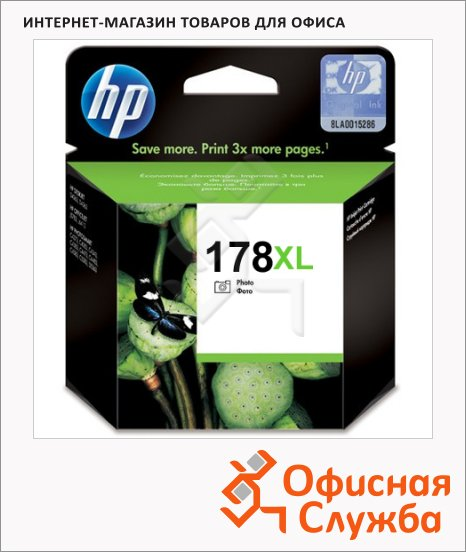Картридж струйный Hp 178XL CB322HE, черный повыешнной емкости