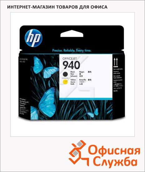 Печатающая головка Hp 940 C4900A, 2шт/уп, черный-желтый