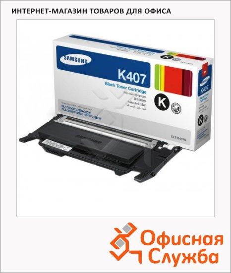 фото: Тонер-картридж Samsung CLT-K407S черный