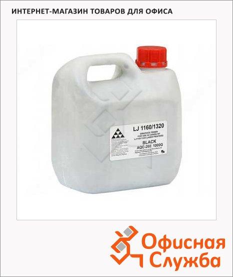 Тонер Aqc AQC 1-370, черный, 1000г, Россия