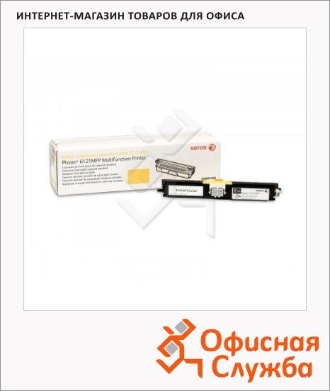 Тонер-картридж Xerox 106R01465, желтый
