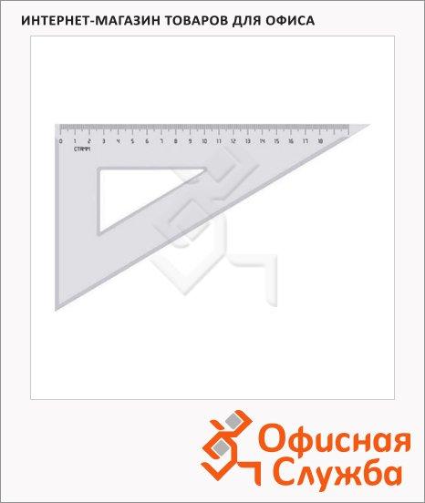 фото: Угольник Стамм ТК-47 13см 30°/60°, прозрачный