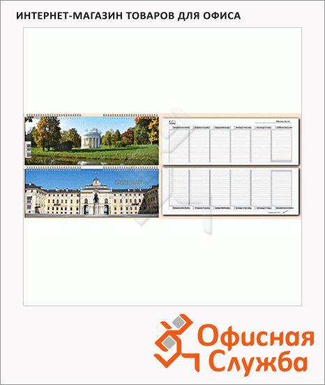 фото: Планинг недатированный Attache Дворцы и парки 10х35см, 56 листов