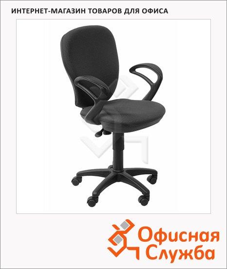 фото: Кресло офисное Бюрократ CH-513AXN ткань JP, крестовина пластик, черная