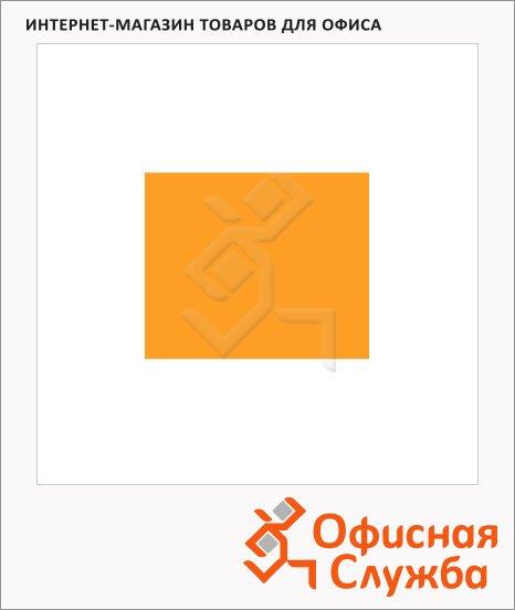 Этикет-лента прямоугольная 28х29мм, 700шт/рул, 100рул, оранжевая