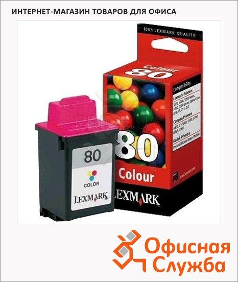 фото: Картридж струйный Lexmark 12A1980Е цветной