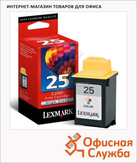 фото: Картридж струйный Lexmark 25 15М0125 трехцветный