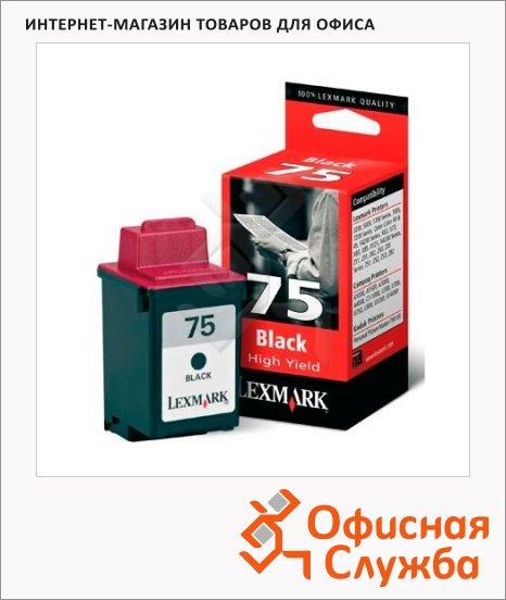 Картридж струйный Lexmark 75 12A1975, черный