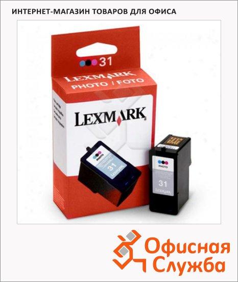 Картридж струйный Lexmark 31 18C0031E, трехцветный