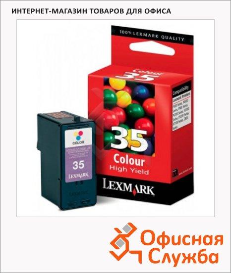Картридж струйный Lexmark 35 18C0035E, 3 цвета