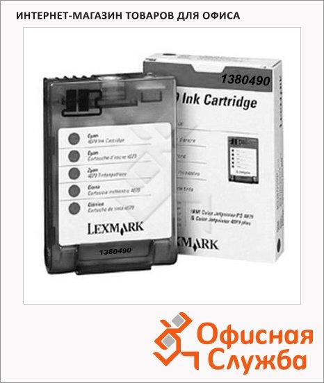 Картридж струйный Lexmark 1380490, черный