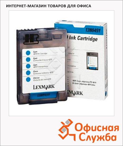 Картридж струйный Lexmark 1380491, голубой