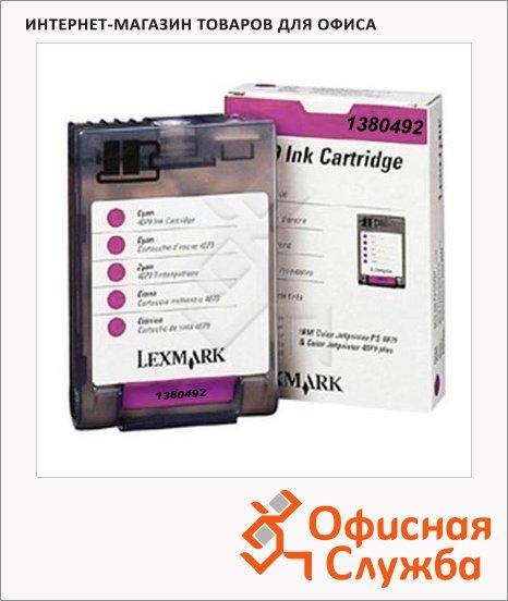 фото: Картридж струйный Lexmark 1380492 пурпурный