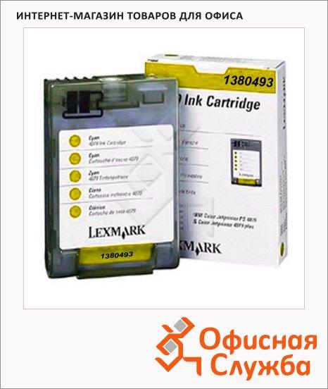 Картридж струйный Lexmark 1380493, желтый