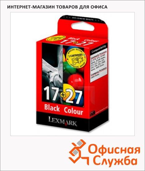 фото: Картридж струйный Lexmark 80D2125 черный+трехцветный, 2шт/уп
