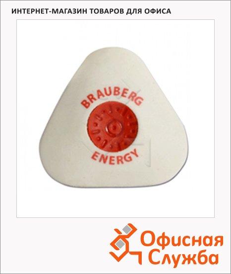 Ластик Brauberg Energy 10х45х45мм, треугольный
