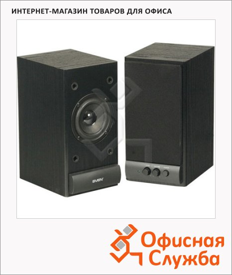 фото: Акустическая система SPS-609 10Вт, черная, 2.0