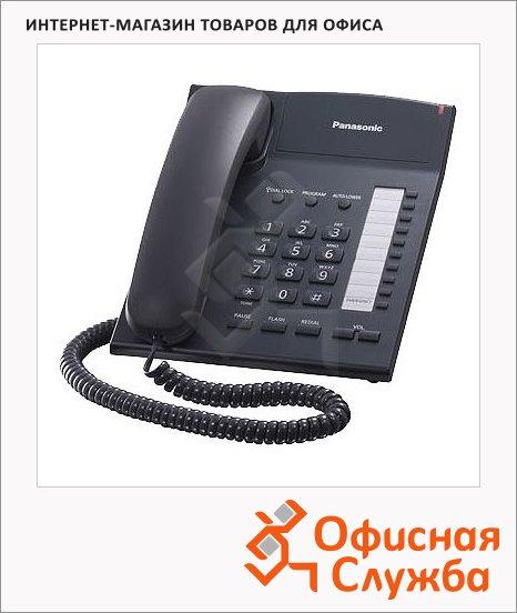 Телефон проводной Panasonic KX-TS2382RU черный