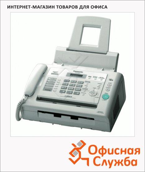 Факсимильный аппарат Panasonic KX-FL423RUW белый, лазерная печать А4
