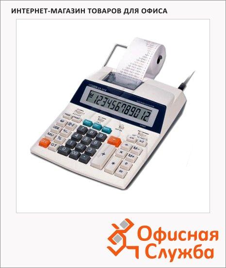 фото: Калькулятор с печатающим устройством Citizen CX-121N двухцветная печать 12 разрядов