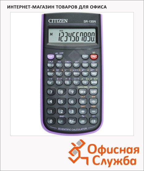 фото: Калькулятор инженерный Citizen SR-135NPU черный 8+2 разрядов