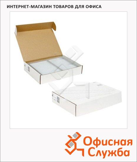 Пружины для переплета металлические Profioffice белые, на 1-30 листов, 6.4мм, 100шт, 70941