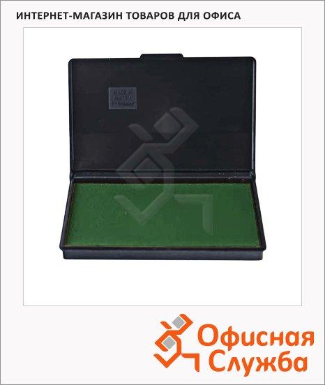фото: Штемпельная настольная подушка Trodat 90х50мм краска на водной основе, зеленая