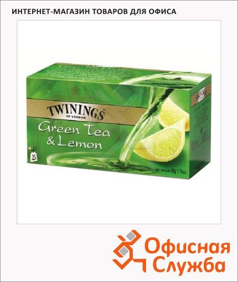 фото: Чай Lemon зеленый, 25 пакетиков