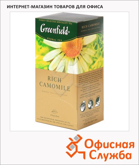 ��� Greenfield Rich Camomile (��� ��������), 25 ���������, ��������