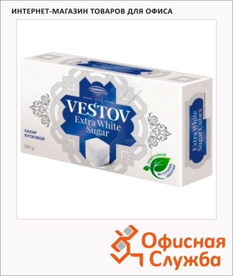 Сахар Вестов Extra White кусковой, белый, 500г