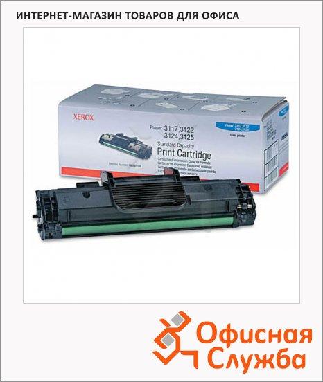 Тонер-картридж Xerox 106R01159, черный