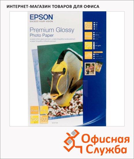 фото: Фотобумага для струйных принтеров Epson Premium А6 500 листов, C13S041826