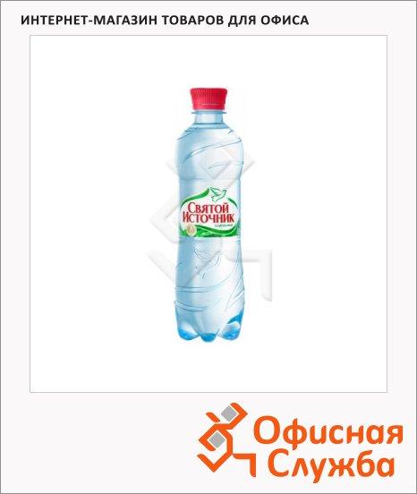 фото: Вода питьевая Святой Источник газ ПЭТ, 330мл