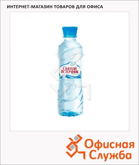 Вода питьевая Святой Источник без газа, ПЭТ, 0.33л