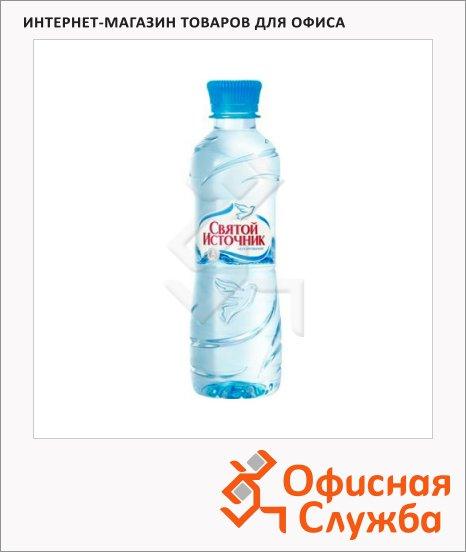 Вода питьевая Святой Источник без газа, ПЭТ, 0.5л