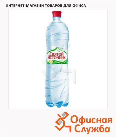 фото: Вода питьевая Святой Источник газ ПЭТ, 1.5л