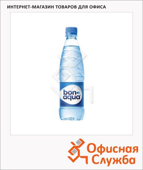 Вода питьевая Bon Aqua газ, ПЭТ, 0.5л