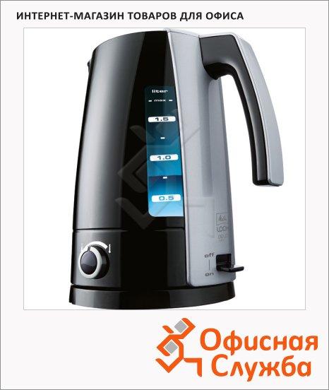 фото: Чайник электрический Look Aqua Vario черный