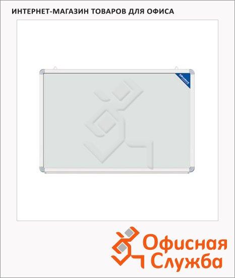 Доска магнитная маркерная Brauberg 60х90см, белая, лаковая, улучшенная алюминиевая рама, полочка