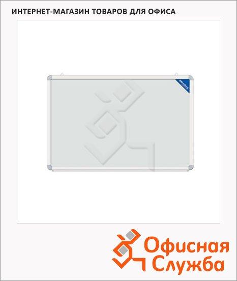 Доска магнитная маркерная Brauberg 90х120см, белая, лаковая, алюминиевая рама