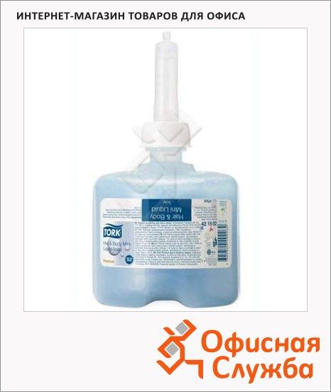 фото: Жидкое мыло в картридже Tork Premium S2 421602, для тела и волос, 475мл