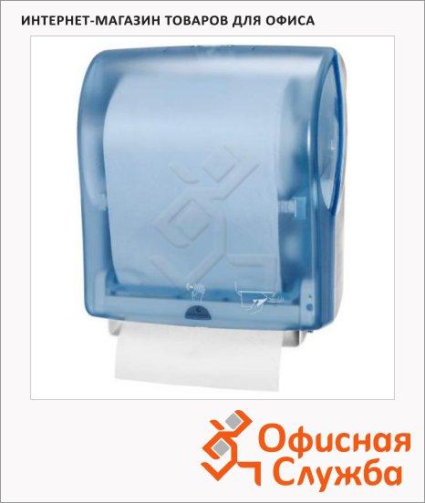 Диспенсер для полотенец в рулонах Tork EnMotion H13, 471097, сенсорный, синий