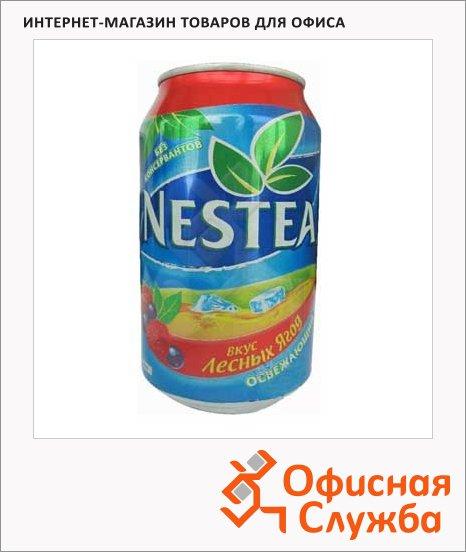 Чай холодный Nestea лесные ягоды, 0.33л х 24шт, ж/б