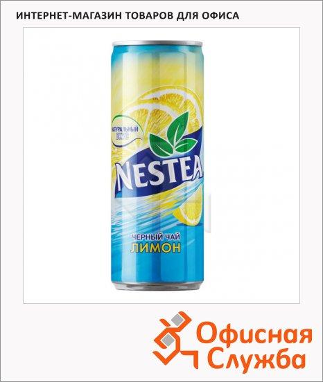 Чай холодный Nestea лимон, 0.33л х 24шт, ж/б