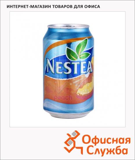 Чай холодный Nestea персик, 0.33л х 24шт, ж/б