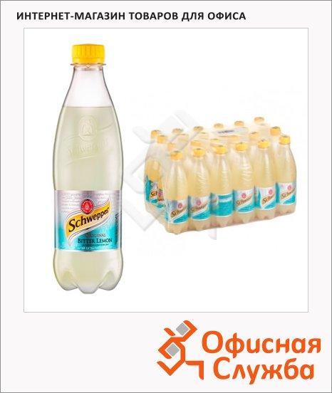 Напиток газированный Schweppes Bitter Lemon 0.5л x24шт, пластик