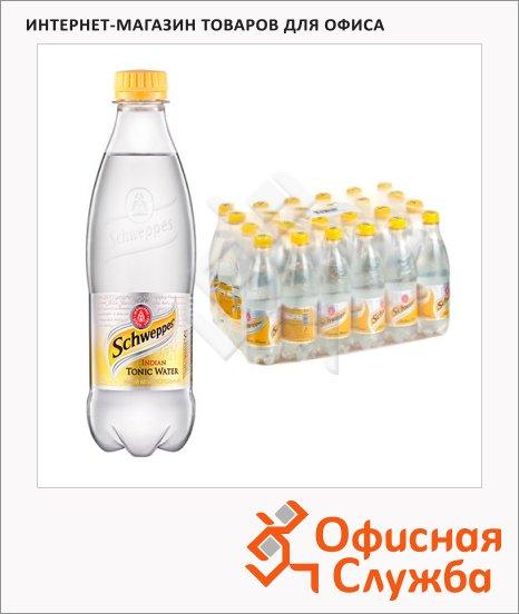 Напиток газированный Schweppes Indian Tonic 0.5л x 24шт, пластик
