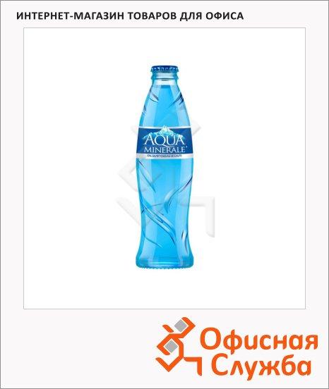 Вода питьевая Aqua Minerale газ, 0.25л, стекло